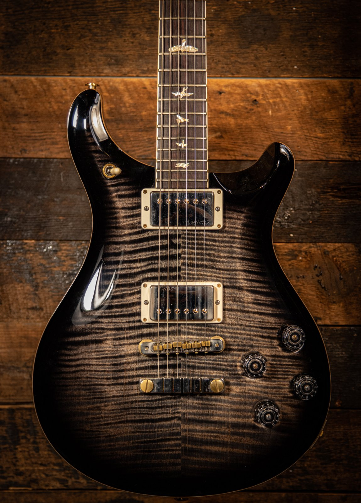 Pre Owned PRS McCarty 594 Charcoal Burst 10 Top 2017
