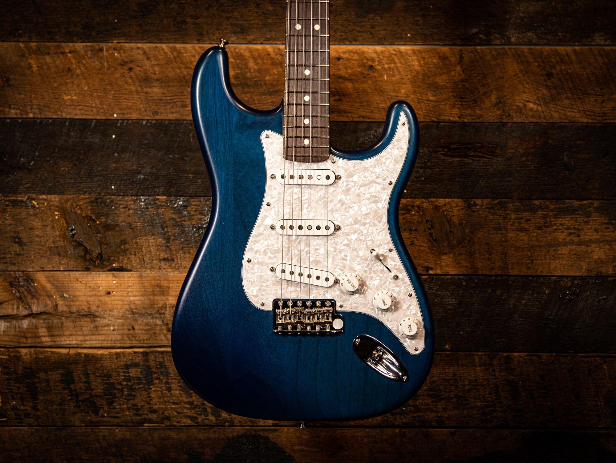 Fender Cory Wong Stratocaster Transparent Sapphire Blue