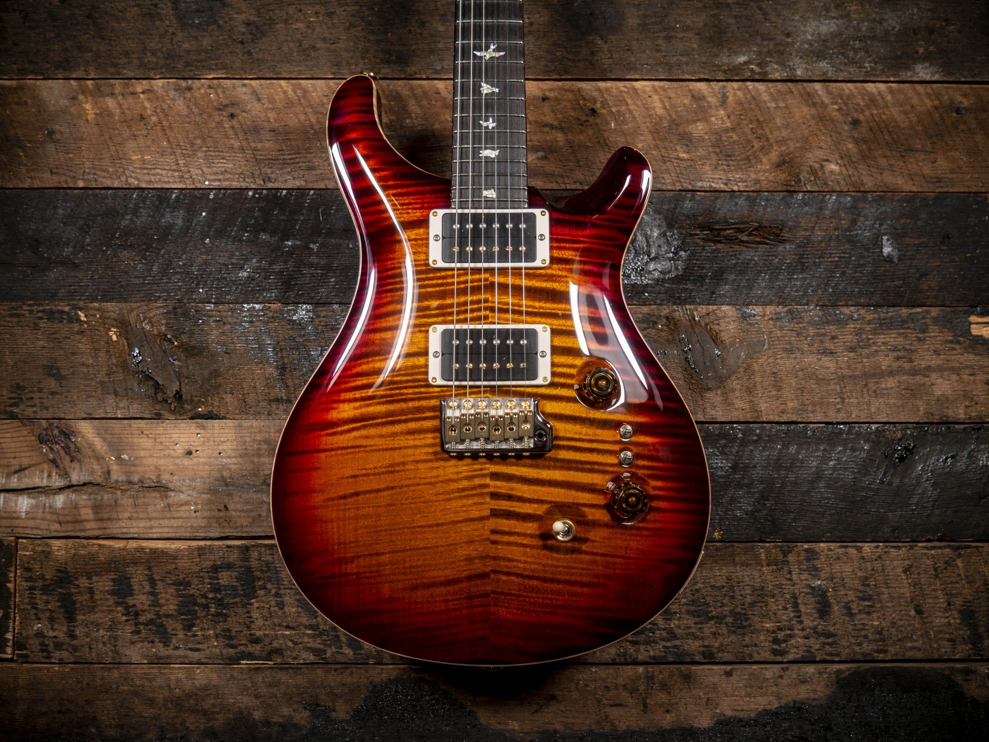 PRS 35th Anniversary Custom 24 10 Top