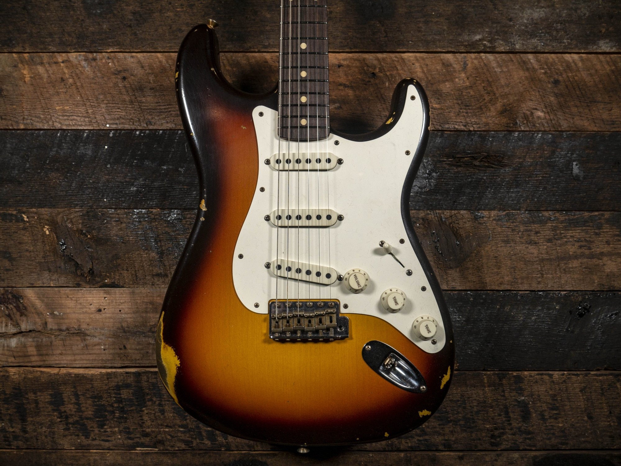 Fender Custom Shop Limited Transition 1959 Stratocaster Chocolate 3 Color Sunburst