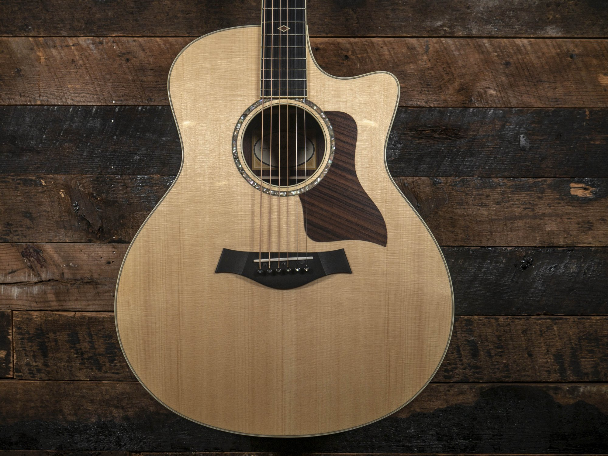 Taylor Custom Shop Grand Symphony AAA Indian Rosewood Back and Sides with Select Lutz Top