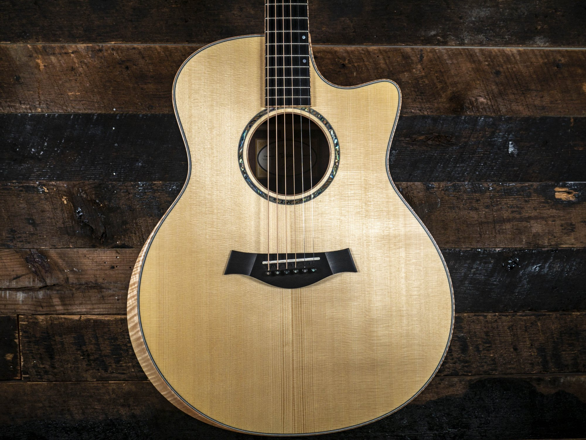 Taylor Custom Shop Hand Selected European Spruce and AA Walnut Grand Symphony