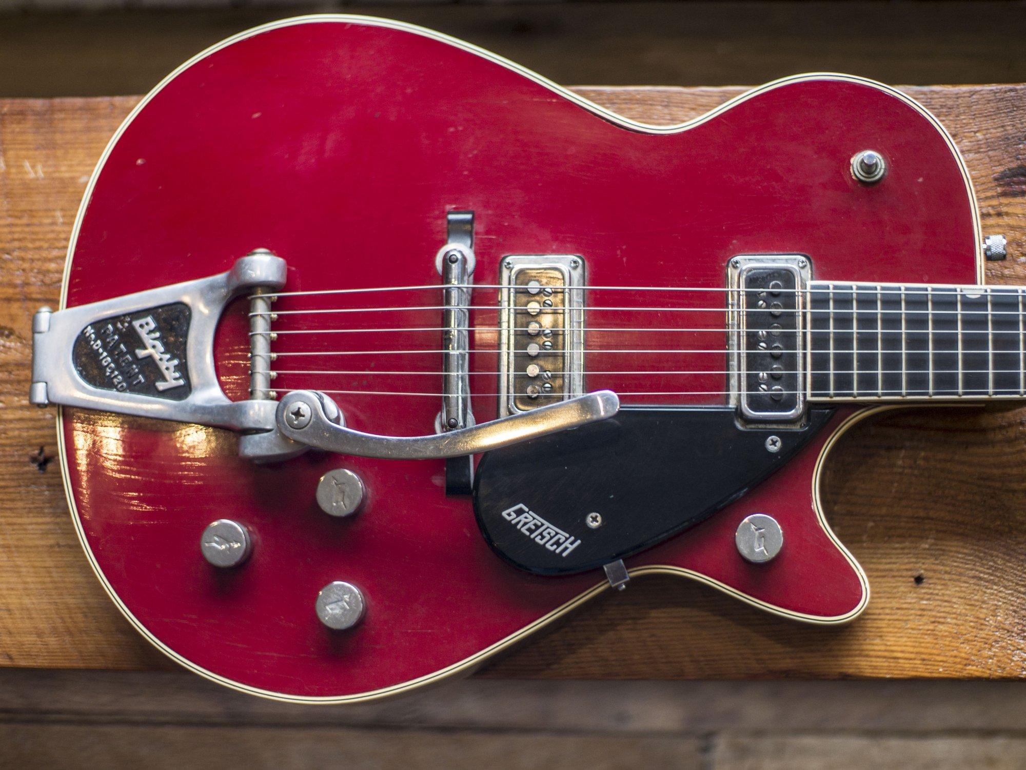 1955 Gretsch The Red Baron 6128 Firebird Red