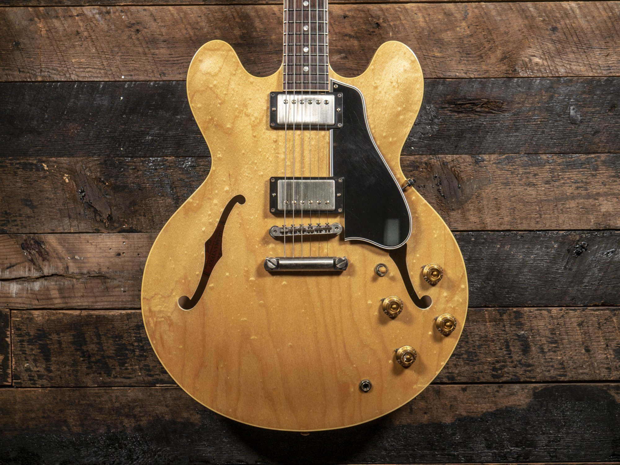 Gibson Memphis 1959 ES-335 TDN VOS Blonde Blistered Pre-owned 2013