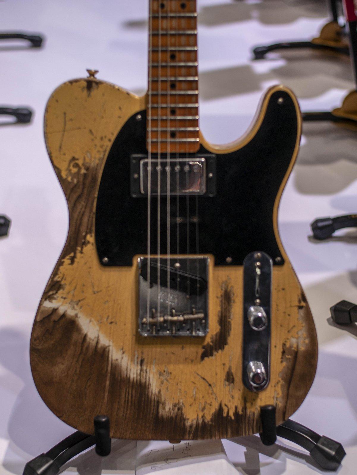 (Pre Order) NAMM SHOW 1951 HS Fender Custom Shop Telecaster Aged Nocaster Blonde