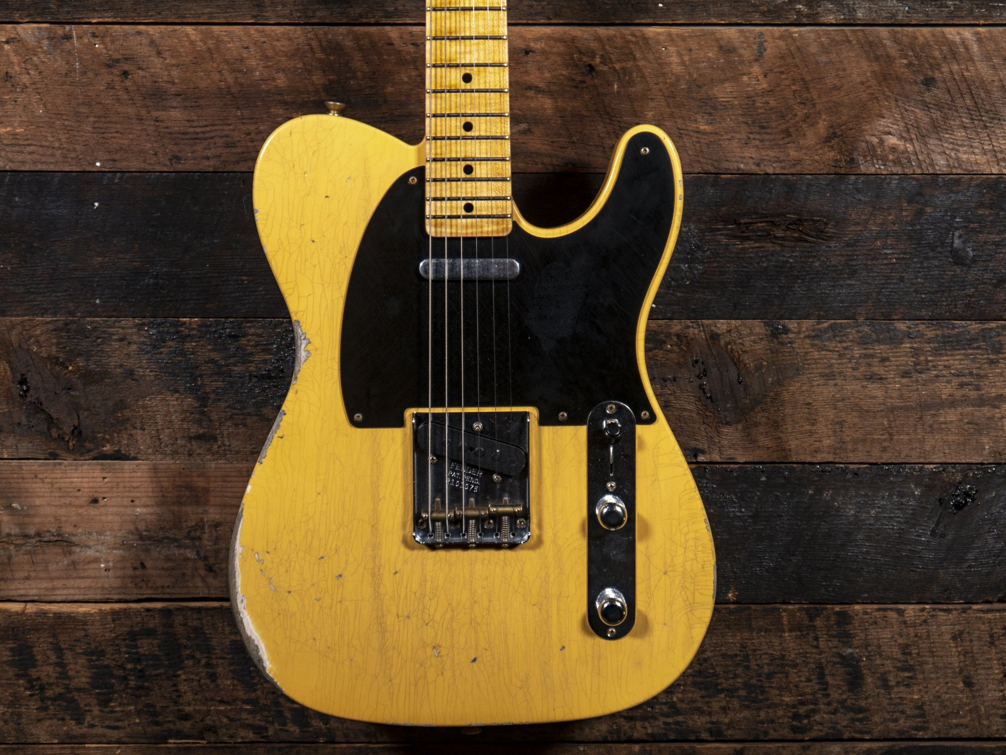 Fender Custom Shop 1952 Telecaster Relic Aged Natural Blonde