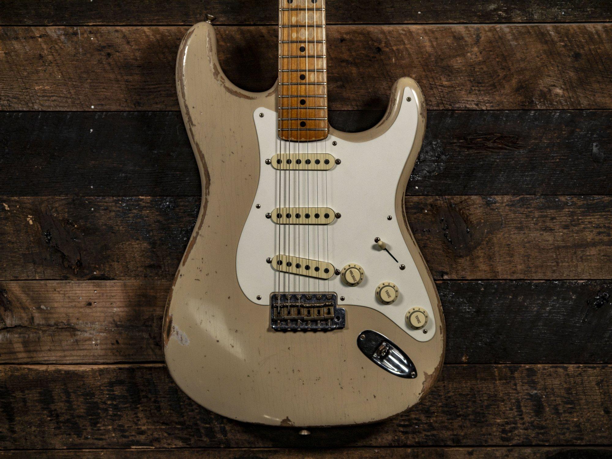 Fender Custom Shop Todd Krause Masterbuilt '57 Stratocaster Heavy Relic Desert Sand w/Maple Neck