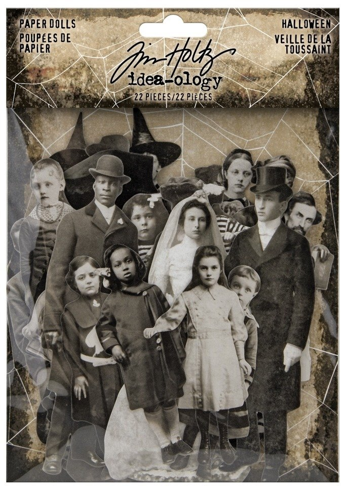 Idea-ology Paperie, Paper Dolls (Halloween 2020) by Tim Holtz