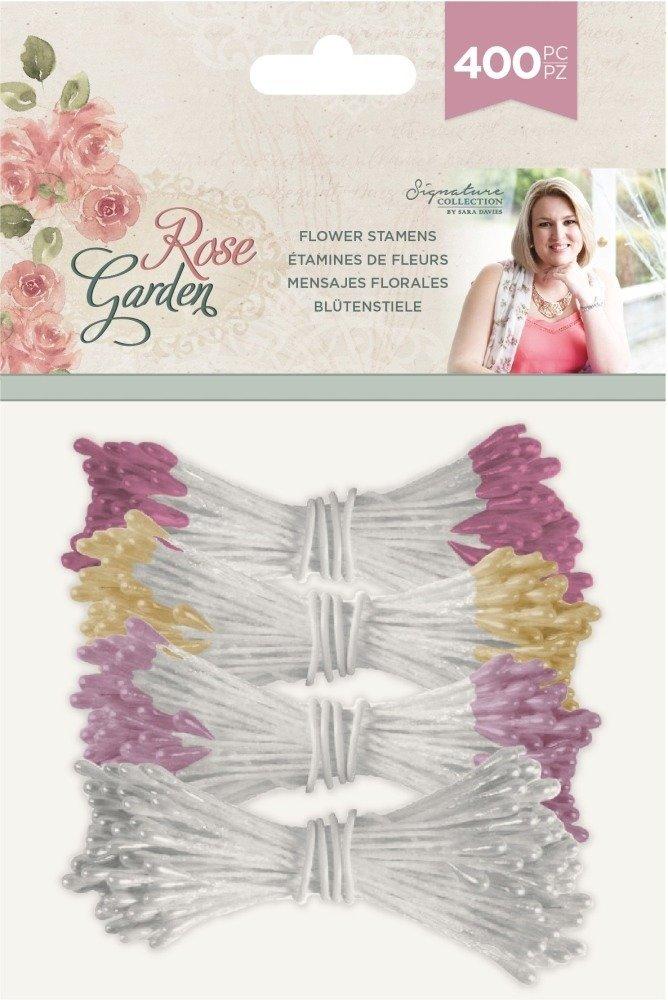 Crafter's Companion Sara Signature Flower Stamens, Rose Garden