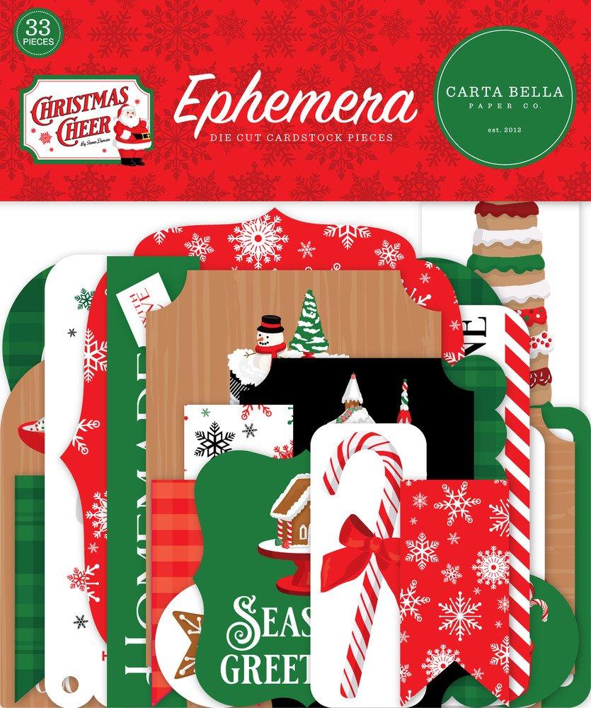 Echo Park Ephemera, Christmas Cheer