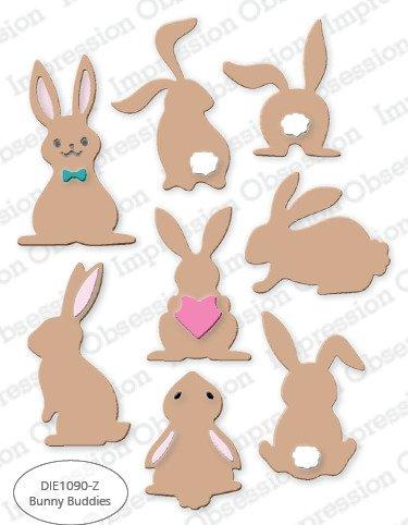 Impression Obsession Die, Bunny Buddies