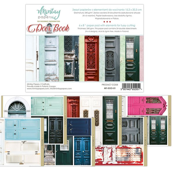 Mintay Paper Door Book Cut Out Pad 6x8