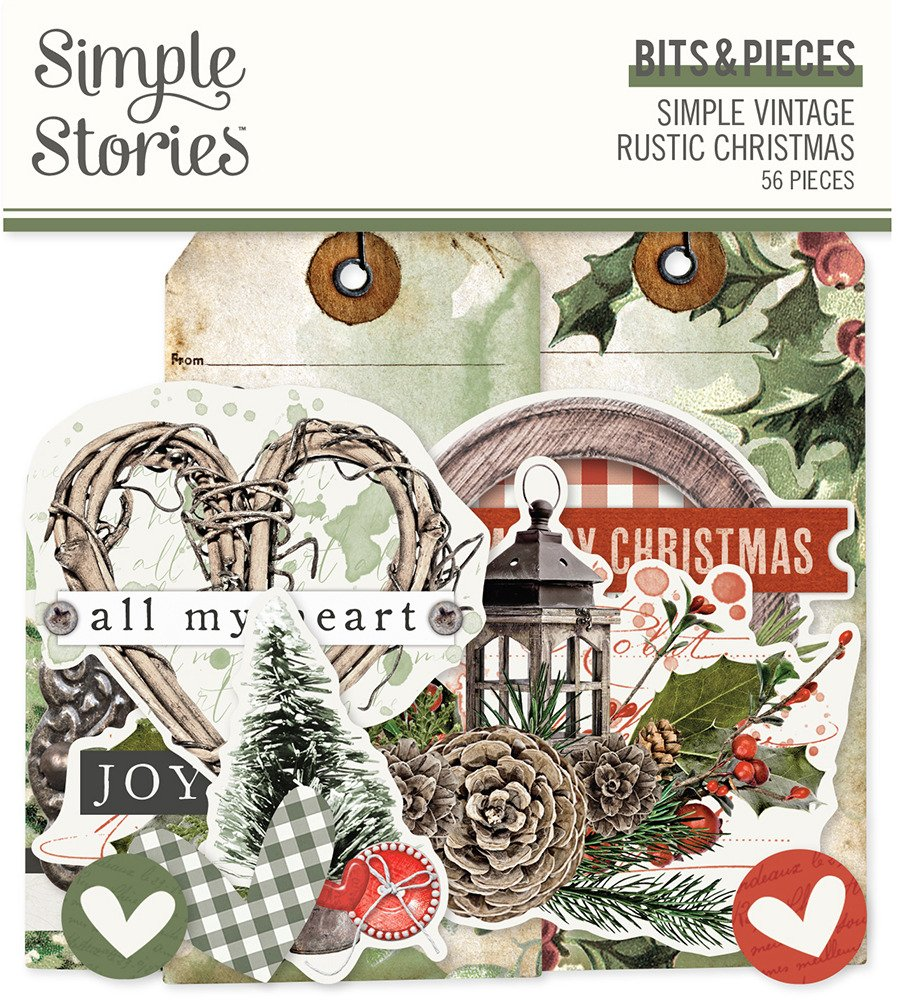 Simple Stories Bits & Pieces, Simple Vintage Rustic Christmas