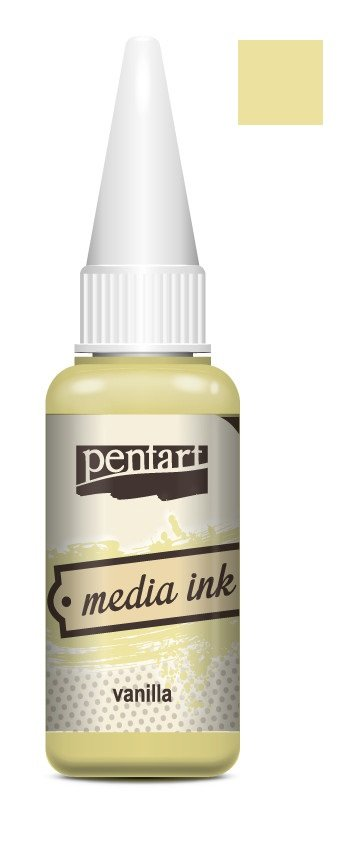 Pentart Media Ink (alcohol ink) Yellows and Oranges