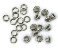We R Memory Keepers Eyelet & Washer, Crop-A-Dile - Standard - Nickel (60pc)