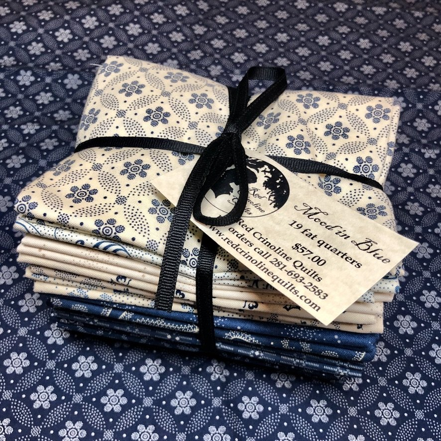 Mood in Blue fat quarter bundle