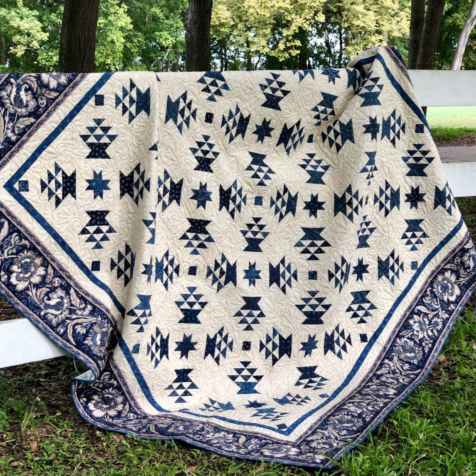 Indigo Baskets of Plenty Kit