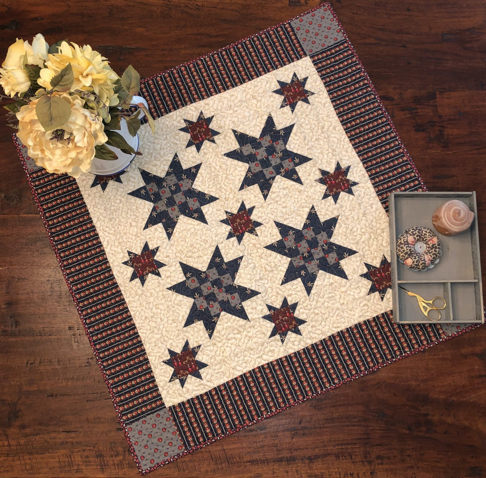 Mondays with Marcus Patchwork Star kit w/o backing