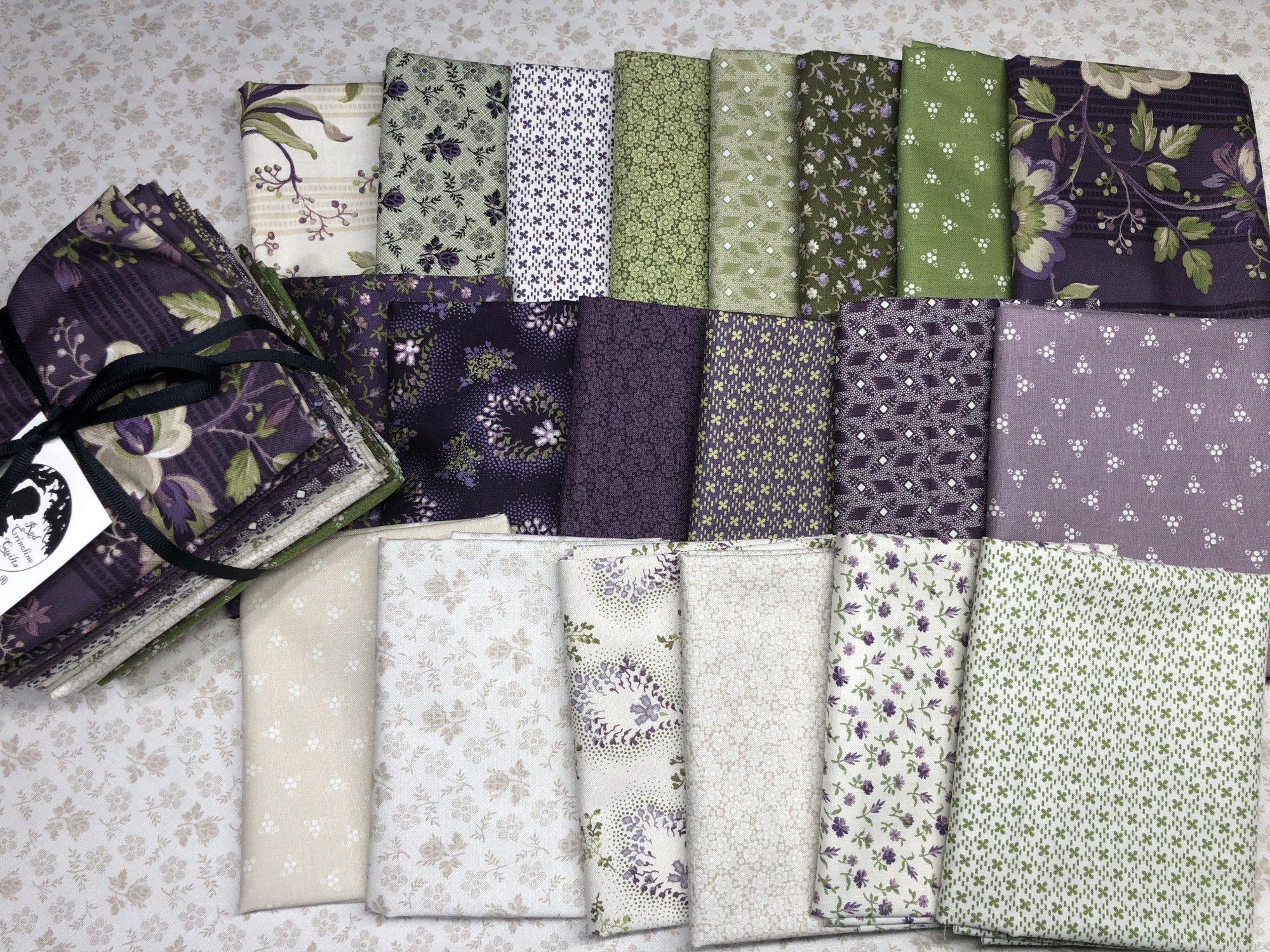 Purple Passion Fat Quarter Bundle