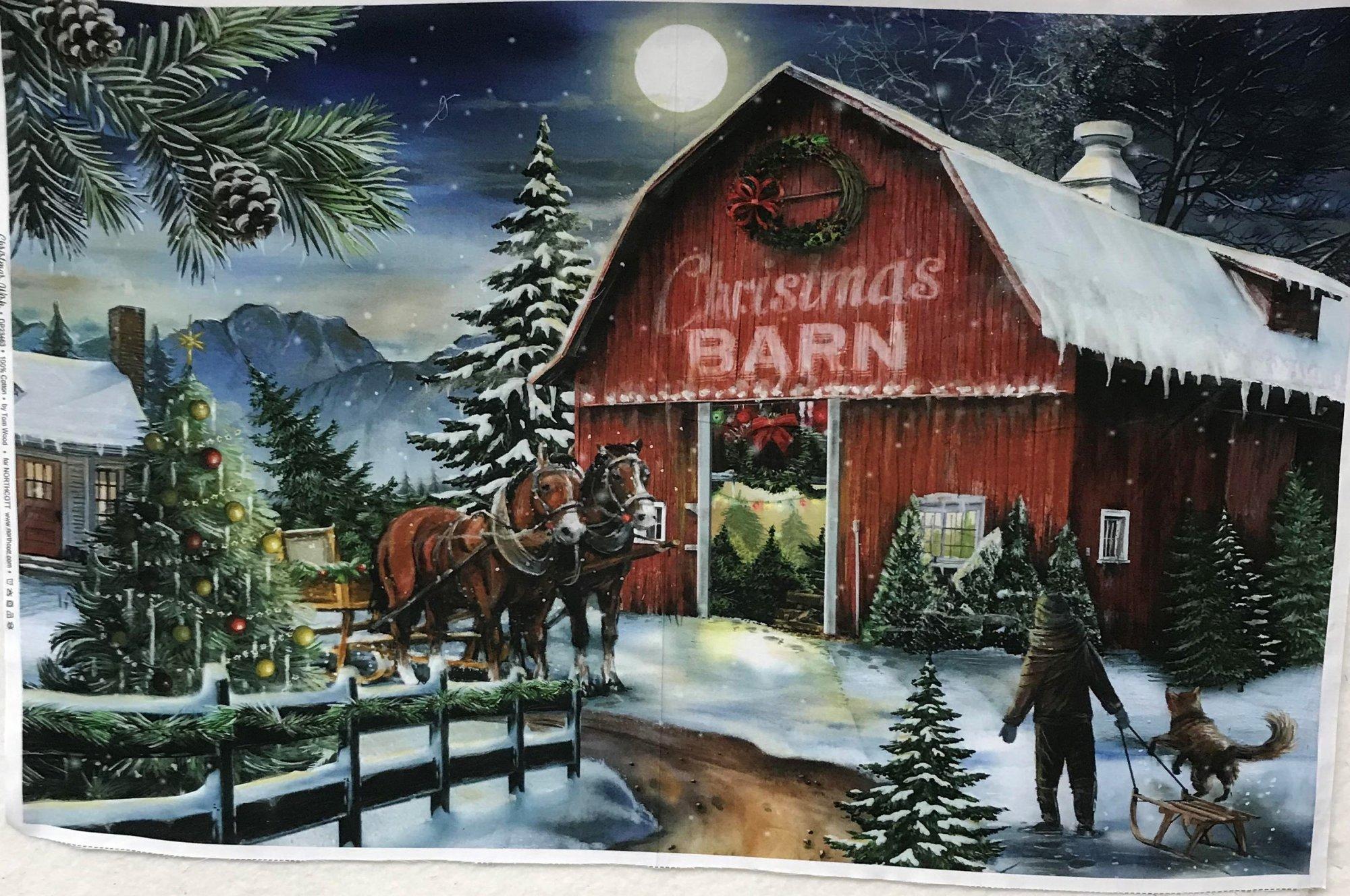 CHRISTMAS WISH BLUE MULTI