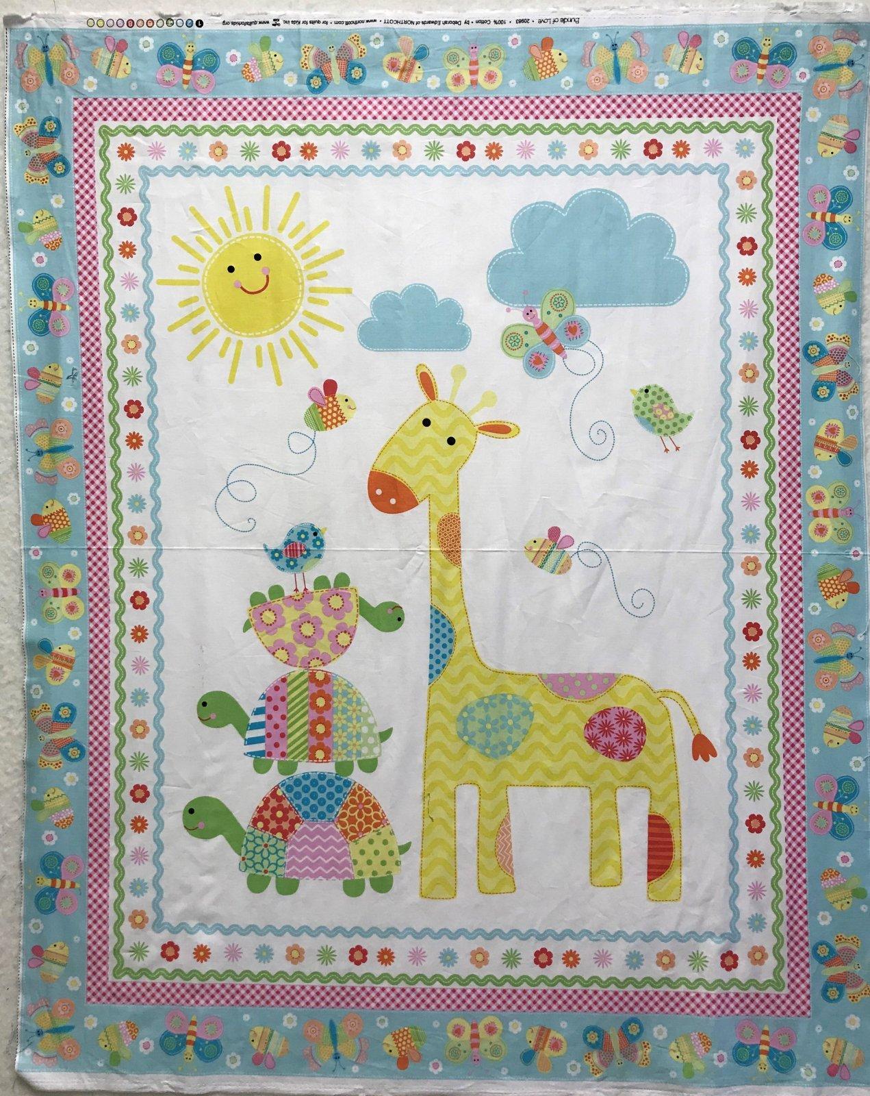 Sunshine Giraffe Panel
