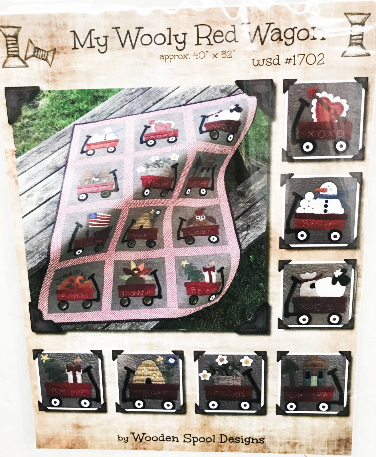 Little Red Wagon Patten