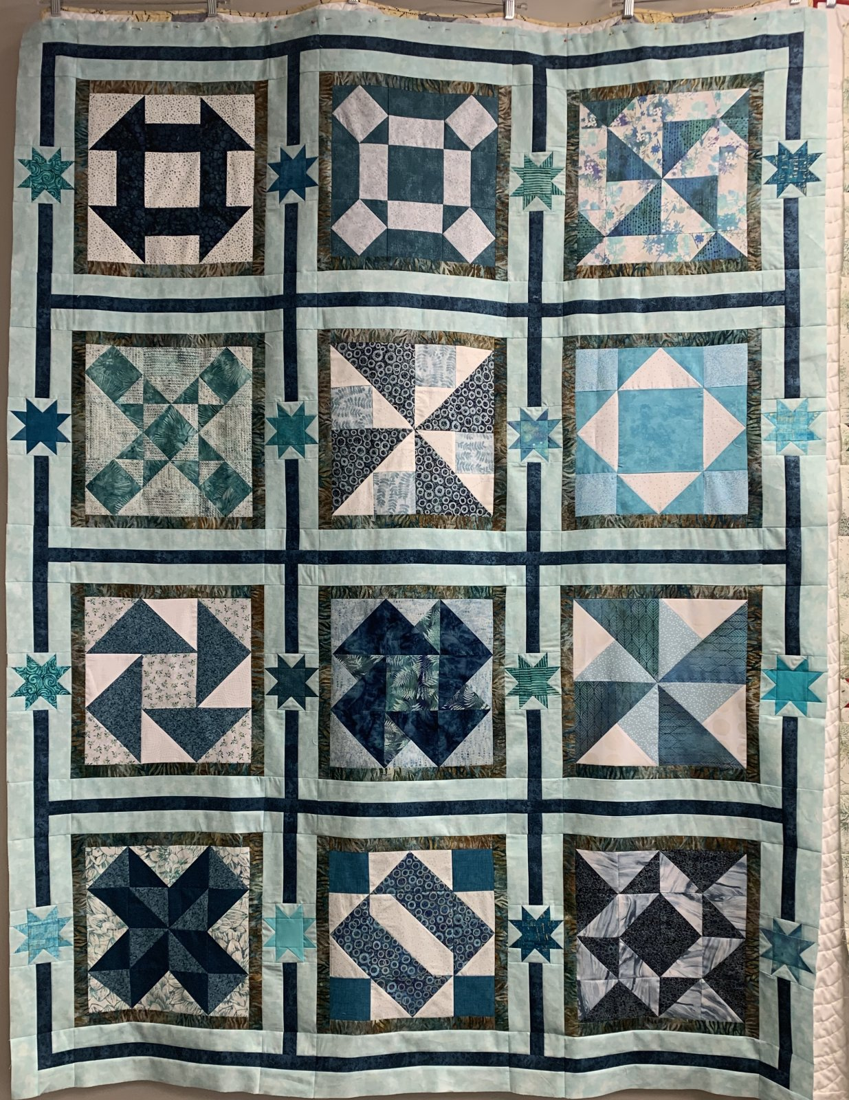 2020 Teal Sampler Quilt Kit