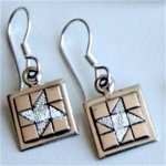 Friendship Star Mini Earrings on Hook