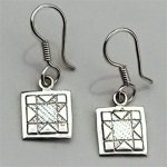 North Star Mini Earrings on Hook