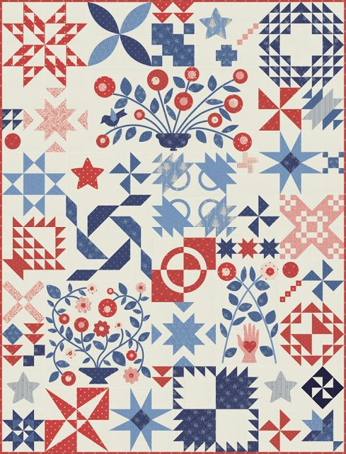 Portage Lake  by Minick & Simpson for Moda Quilt Kit