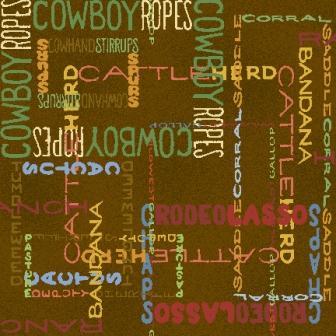 Cowboy Words