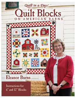Quilt Blocks on American Barns from Quilt in a Day