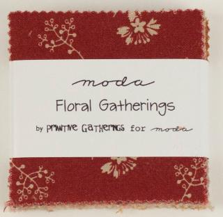 Floral Gatherings Mini Charm Pack from Moda