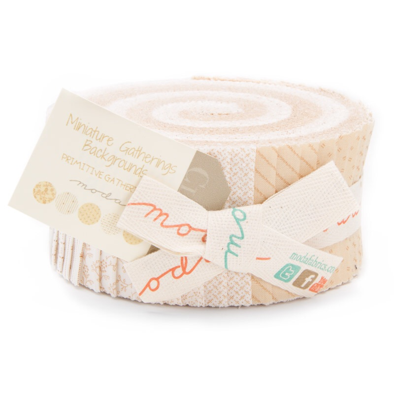 Miniature Gatherings Backgrounds jelly roll pack