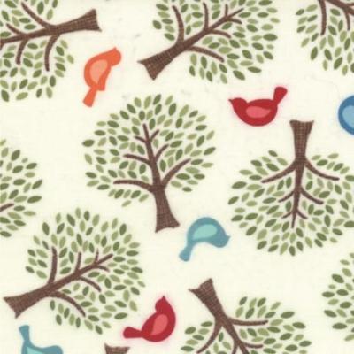 Family Tree Cream for Moda
