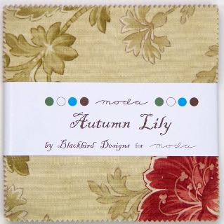 Autumn Lily Charm Pack from Moda