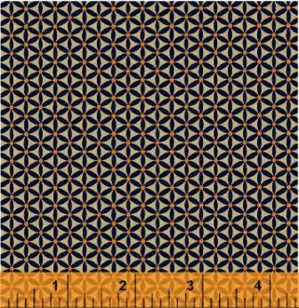 Colonies Cheddar & Poison Green by Windham Fabrics
