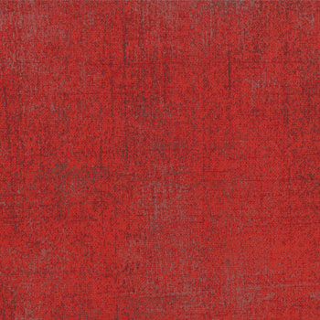 Blitzen by Basic Grey for Moda Fabrics- Grunge, Solid Red