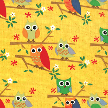 Ten Little Things by Jenn Ski for Moda Fabrics- Yellow