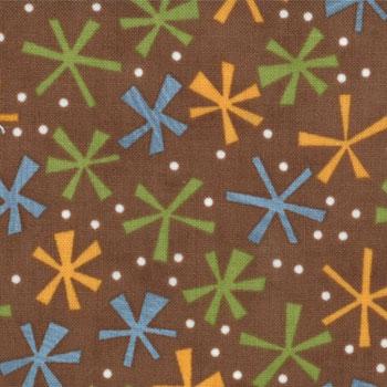 Ten Little Things by Jenn Ski for Moda Fabrics- Brown Twinks
