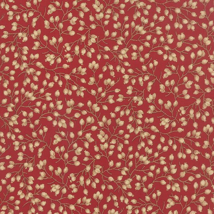 Moda Metallic Crimson