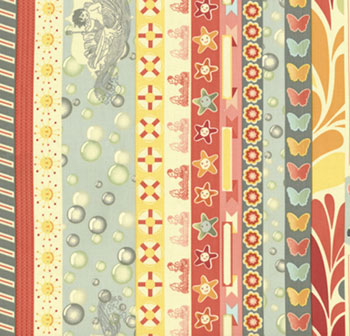 Salt Air by Cosmo Cricket for Moda Fabrics- Summer Borders