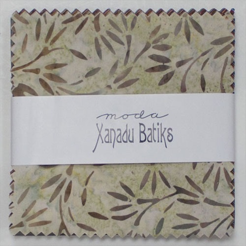 Xanadu Batiks Moda Precuts Charm Pack