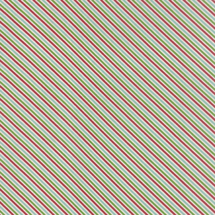 Sweetwater Seasonal Christmas candy cane multicolored