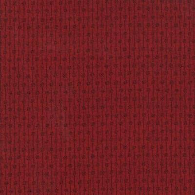Patchwork Garden Ruby Red by Kathy Schmitz for Moda