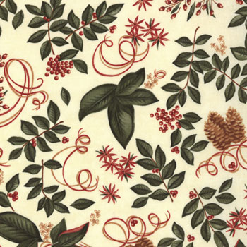 Christmas Spirit by Holly Taylor for Moda Fabric- Cream