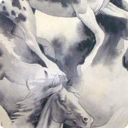 Santa Fe Wild Horses from Alexander Henry