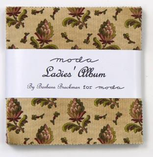 Ladies Album from Moda Charm Pack
