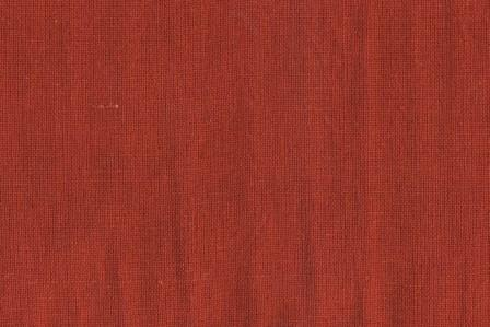 Cotton Linen From Moda 54 Brick Red
