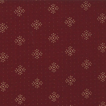 Holiday Medley fabric by Kansas Troubles for Moda- Red